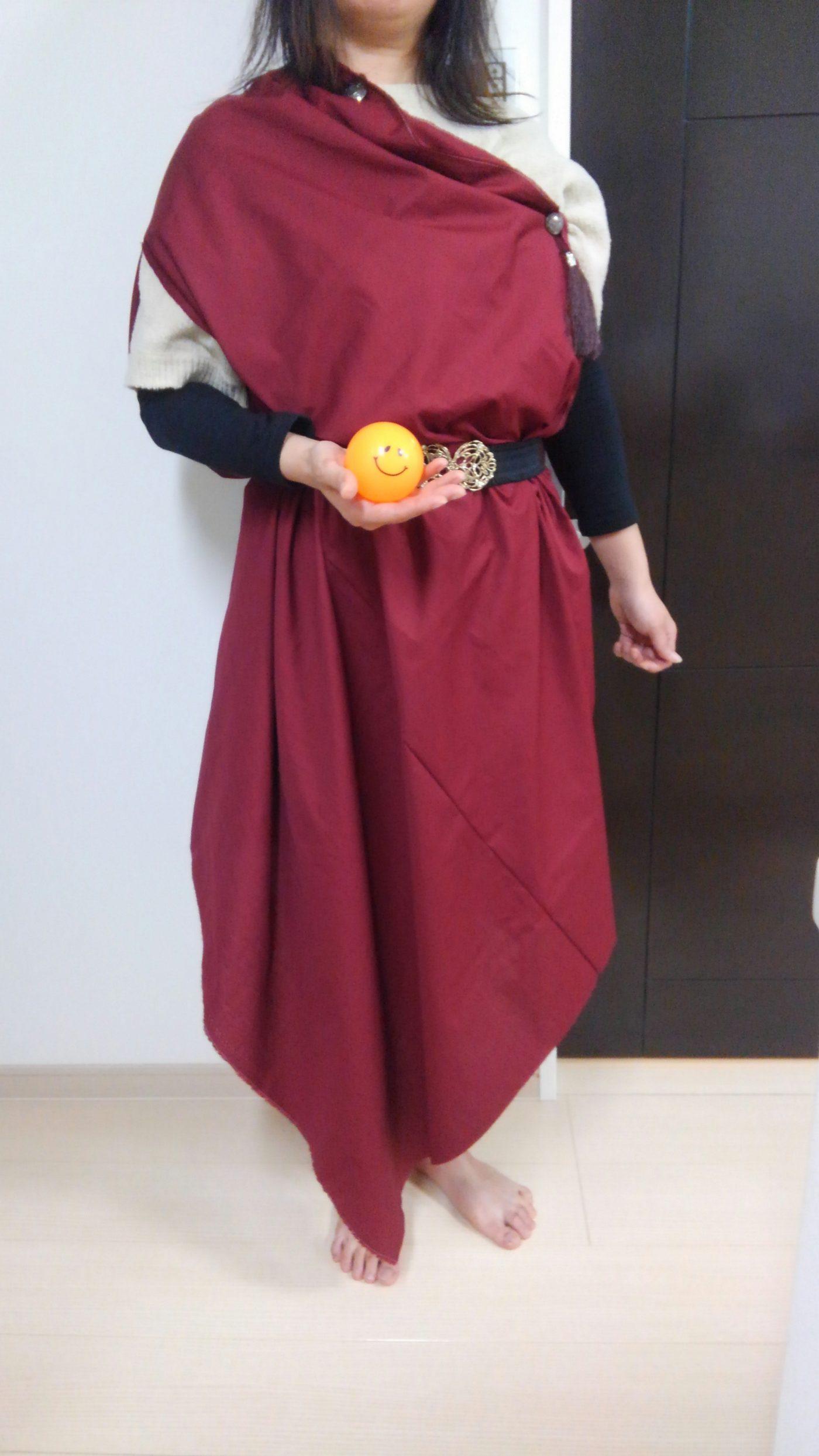 LARPの衣装を作ってみた~古代ローマ風味~