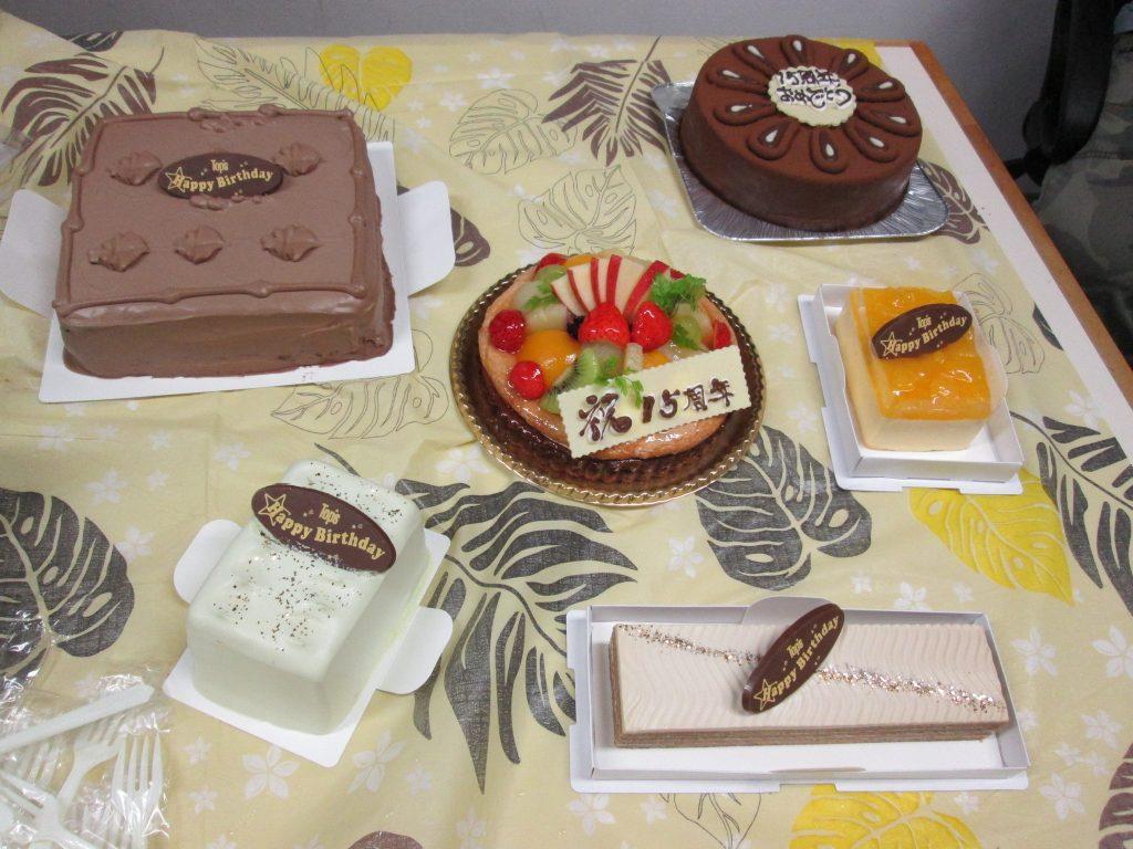 祝!15周年記念パーティー~テーブルトークカフェDaydream